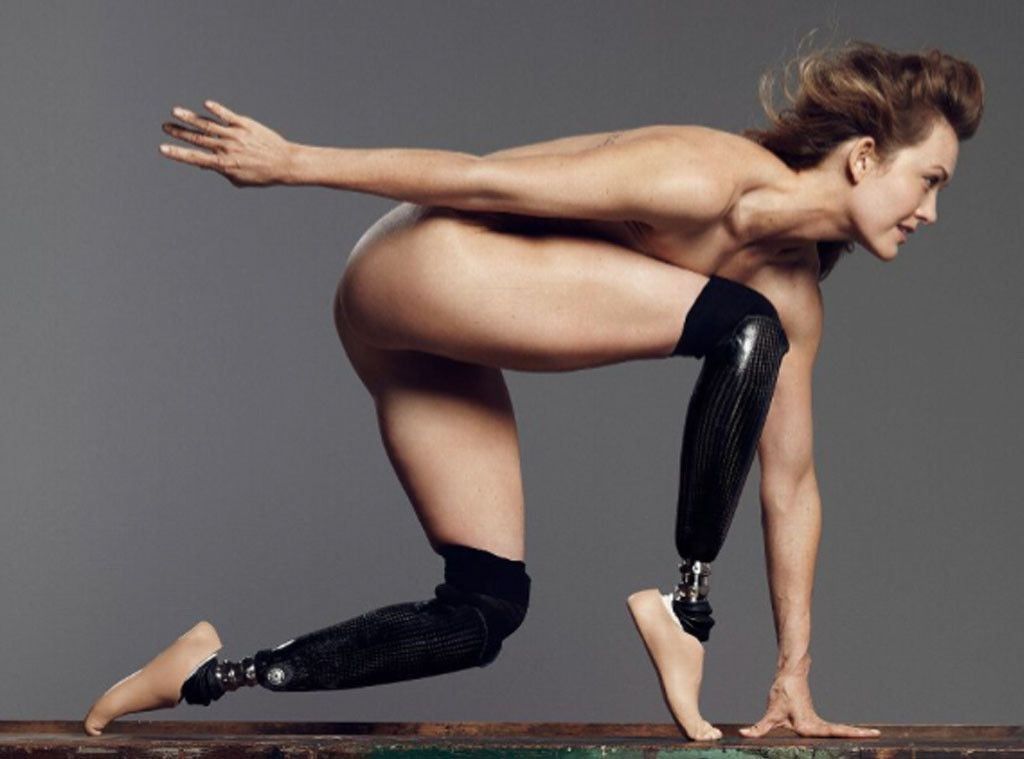 Amy Purdy And Michael Phelps Pose Totally Nude For Espn -3126