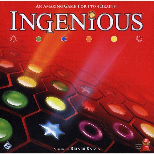 Ingenious Board Game Set Card Game Board Games Fun Board Games