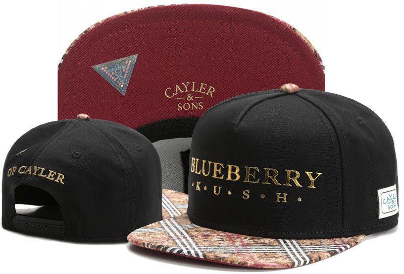 Hot Hip Hop Men/'s CAYLER Sons Hat adjustable Baseball Snapback Brown Street cap