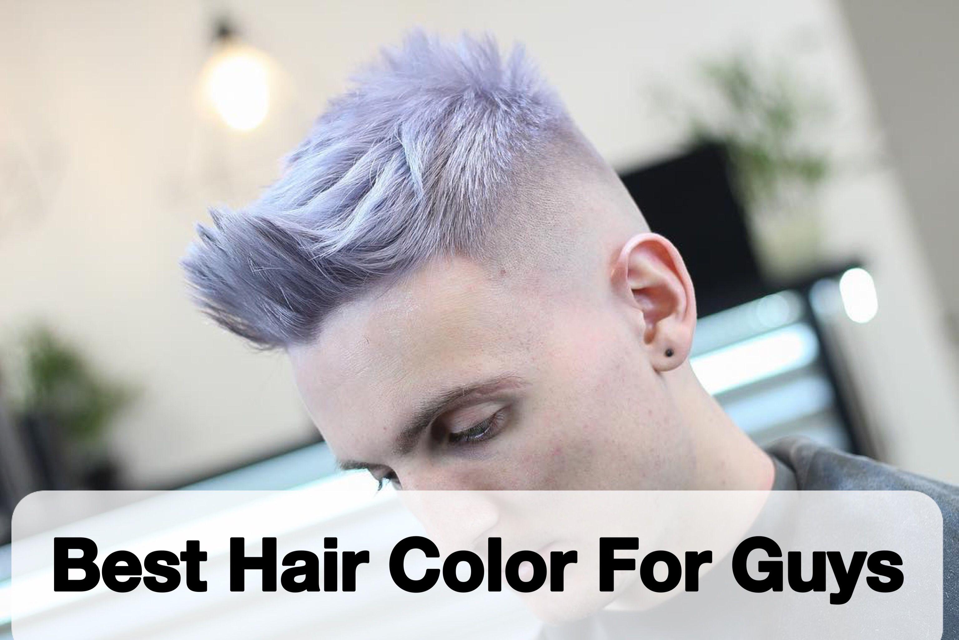 best hair color for guys in short hair men pinterest
