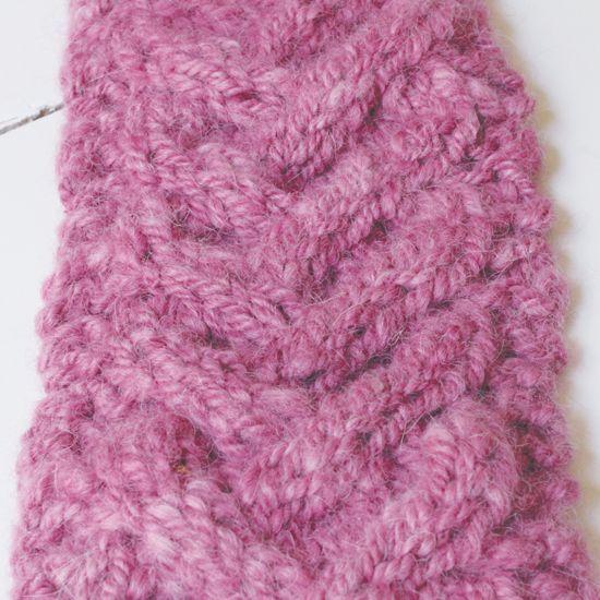How to Knit Wrist Warmers - DIY | Wrist warmers, Knitting ...