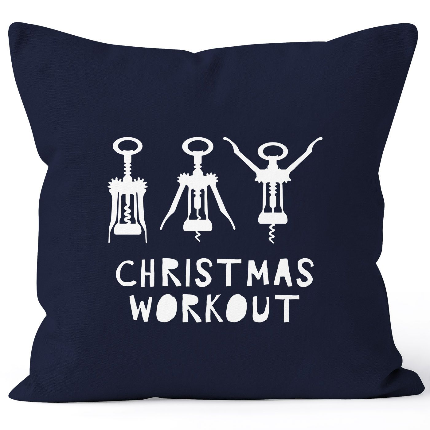 kissenbezug weihnachten christmas workout flaschen ffner. Black Bedroom Furniture Sets. Home Design Ideas