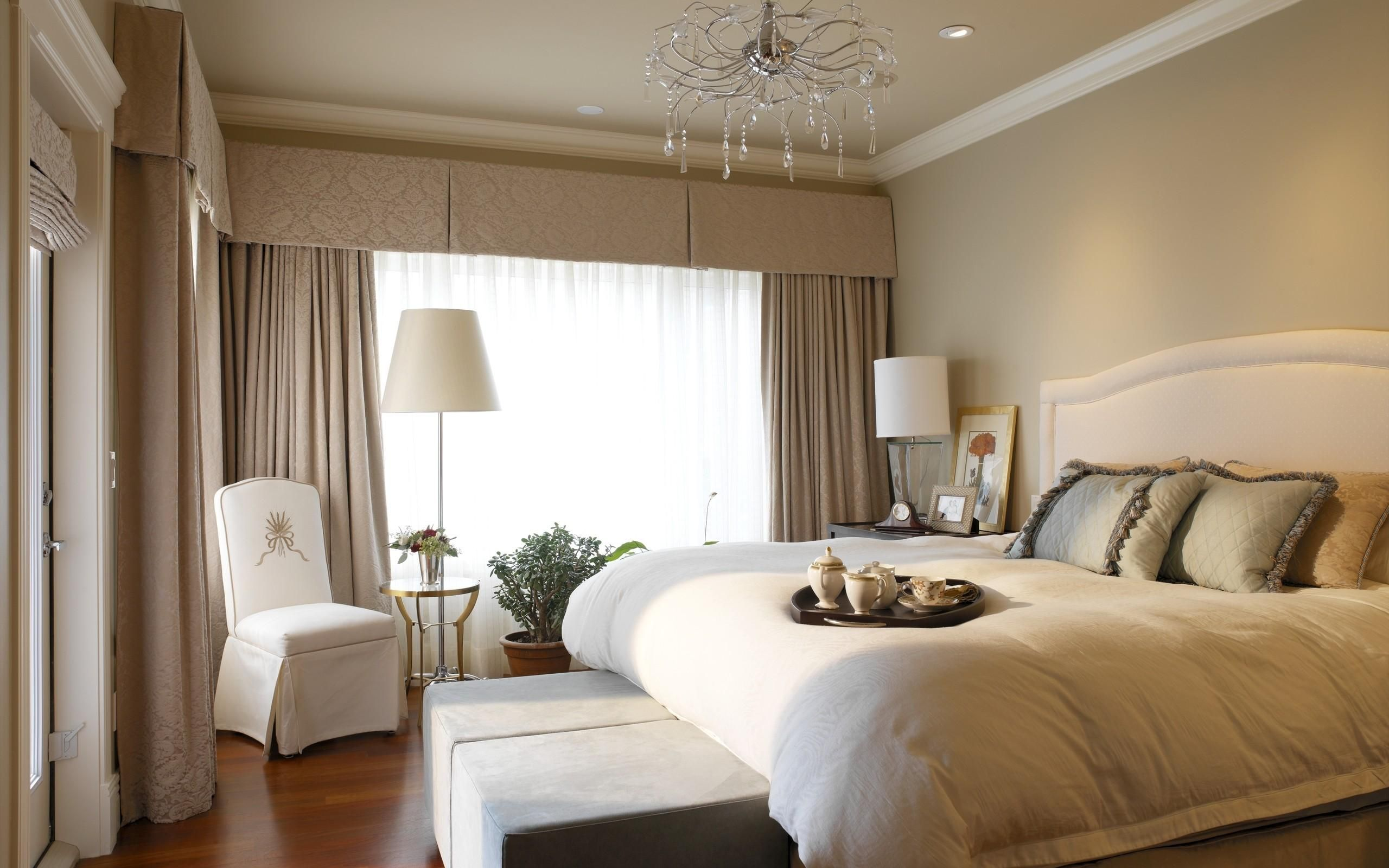 Window bedroom design  luxury bedroom design  love the cornice idea to extend illusion of