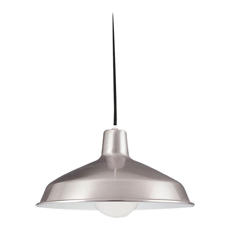 Pendant Light In Brushed Stainless Steel House Remodel