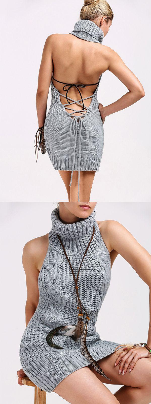 19+ Backless sweater dress ideas