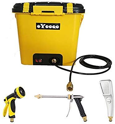 OYOOQO Portable Shower 8 gallons Outdoor Camping Shower