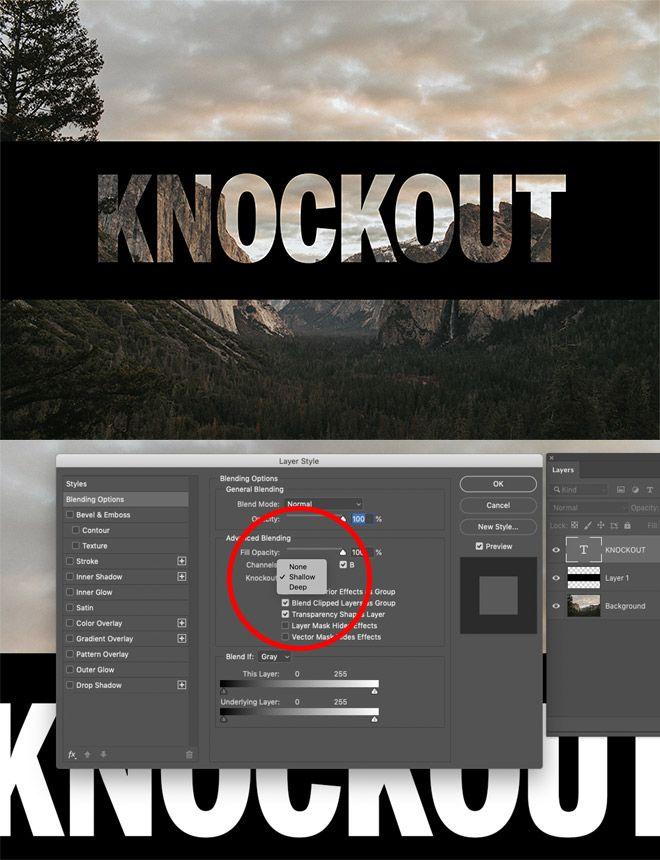 Die Knockout-Methode ist meine neue Lieblings-Photoshop-Technik
