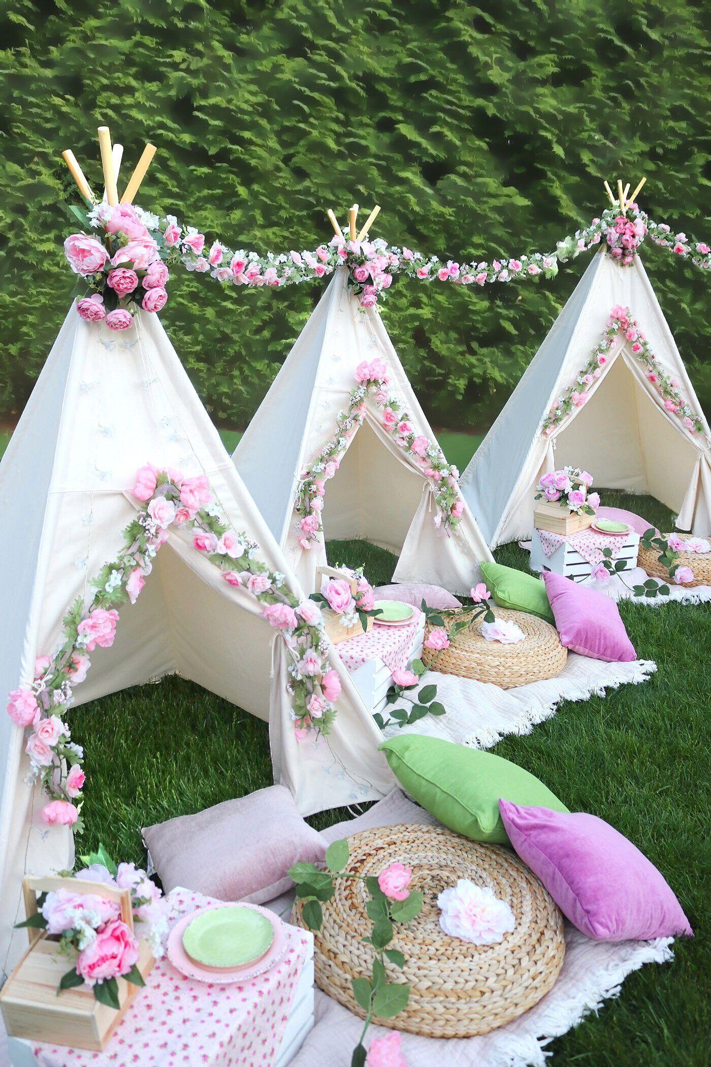 Outdoor Picnic Party Rentals - Decor & Props - Kids ...