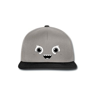 Casquette snapback Drôle et mignon de Kawaii Visage Comic / Smiley #cloth #cute #kids# #funny #hipster #nerd #geek #awesome #gift #shop We will review it and take appropriate action. Thanks for helping to maintain extreme awesomeness on Wanelo.