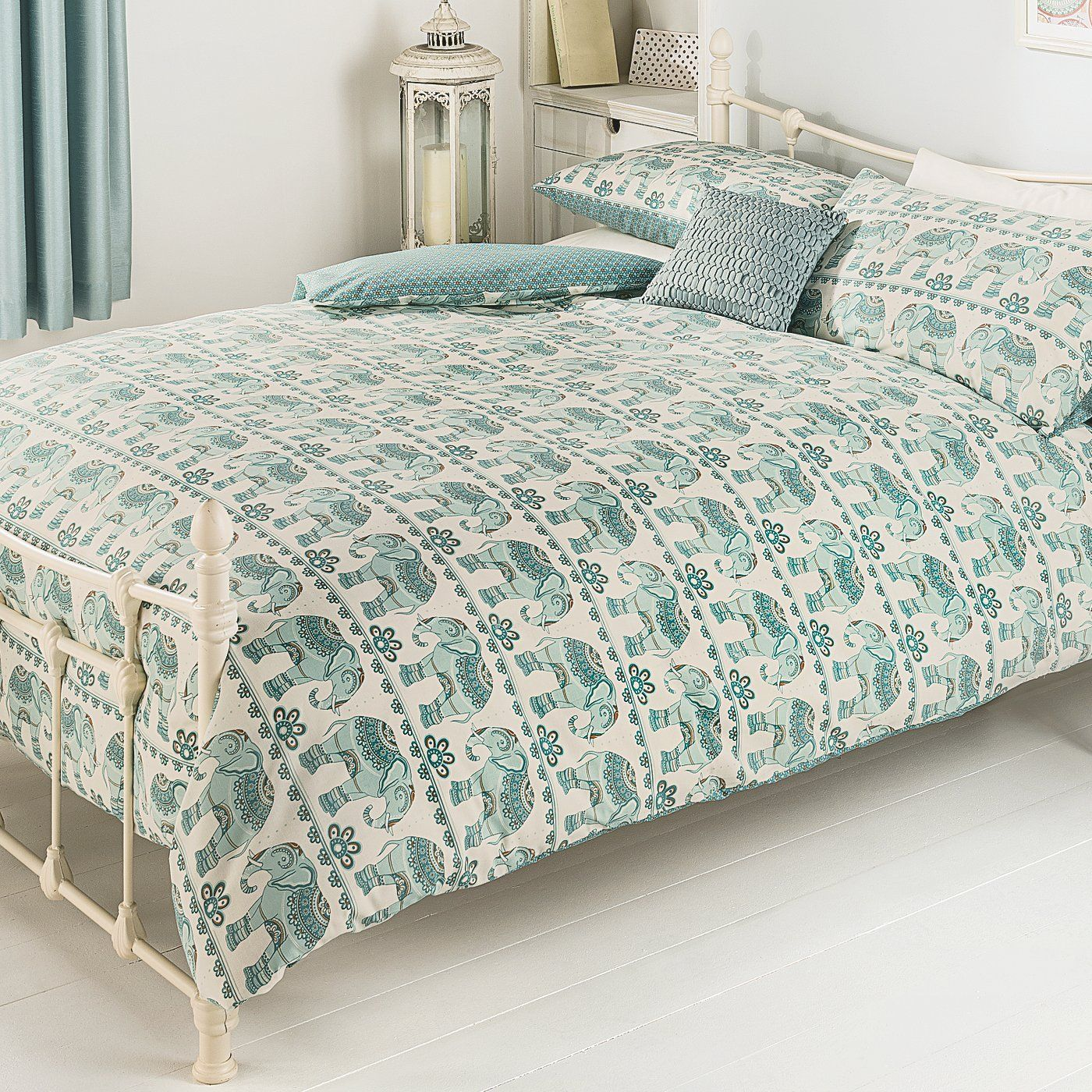 Buy George Home Harmony Elephant Duvet Set From Our