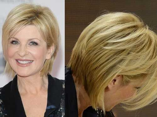 Trendy Short Bob Hairstyles For Older Women Great Haircuts