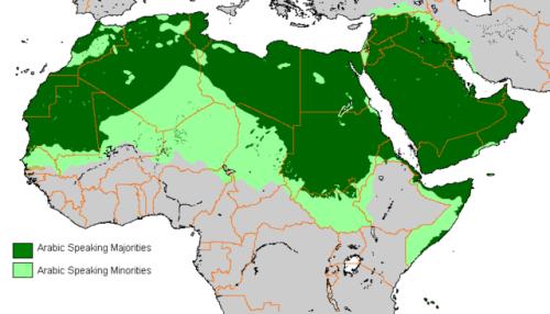 Arabic Language Use Arabic Dialects Arabic Language Language Map