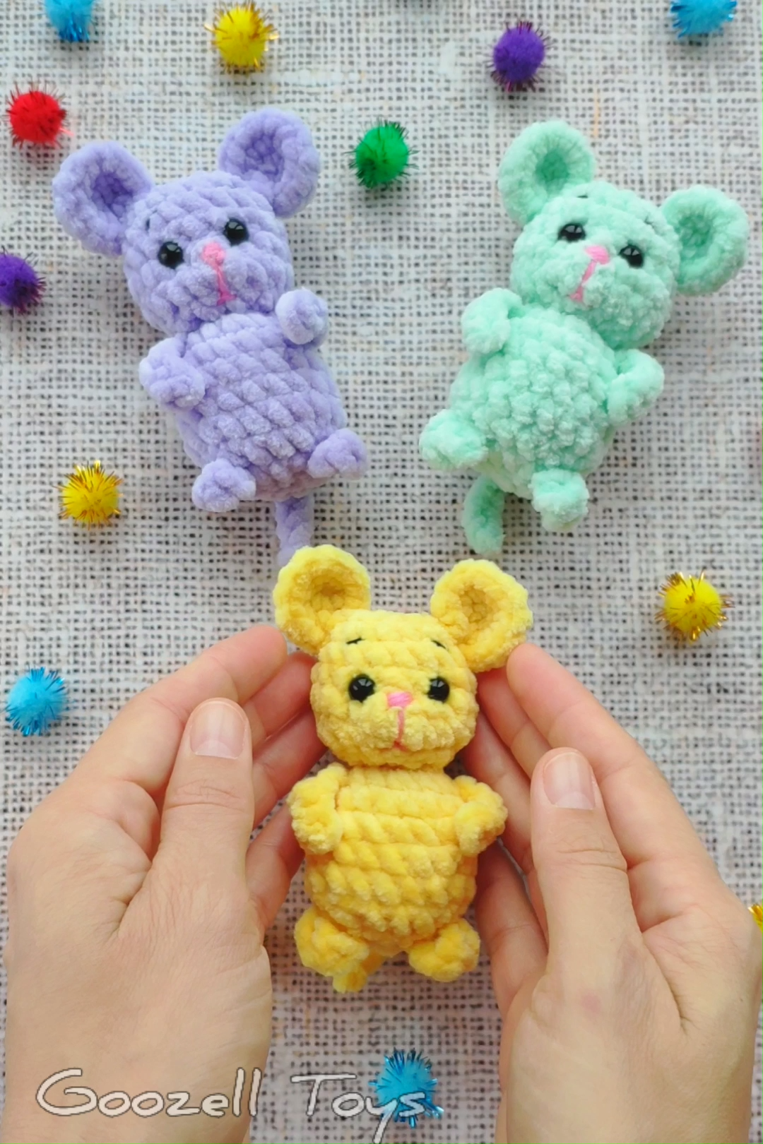 MOUSE CROCHET PATTERN Mini Mouse Amigurumi Pdf pattern Easy crochet pattern free Crochet Christmas
