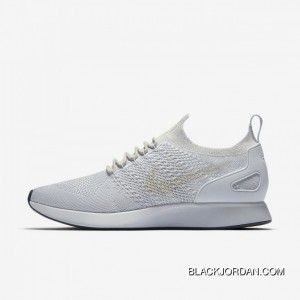best loved 231ee 13eb7 Nike 918264-011 Men Nike Air Zoom Mariah Flyknit Racer Pure Platinum Light  Bone