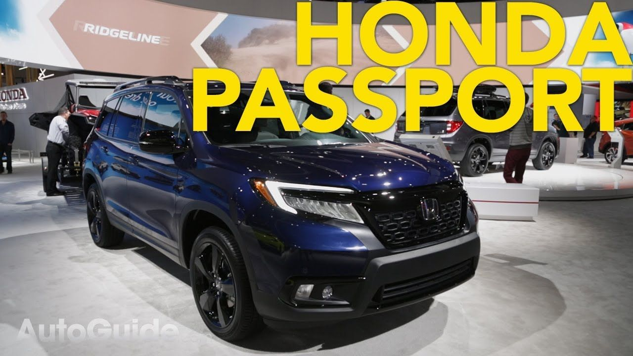 2020 Honda Passport First Look 2018 LA Auto Show Honda