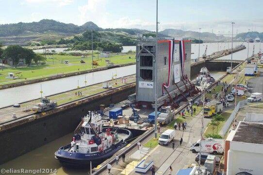 nueva compuerta para la nuwva esclusa del canal de panama