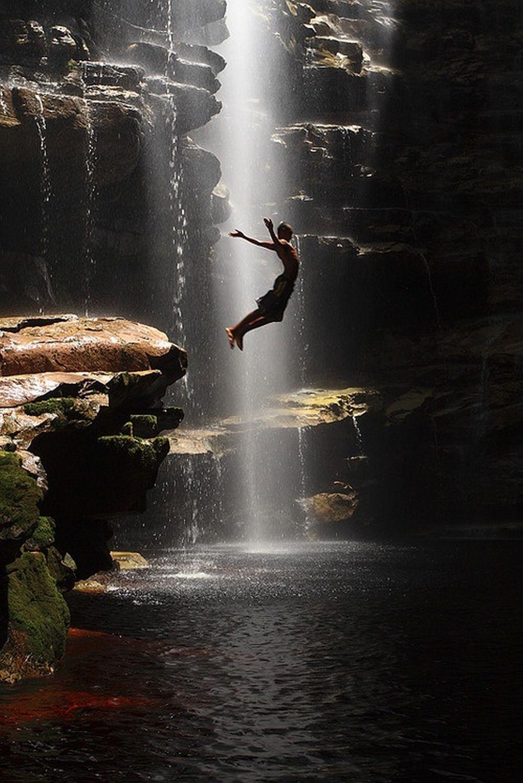 Cachoeira do Sossego, Chapada Diamantina, Bahia, Brasil