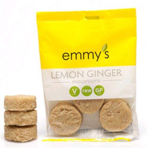 6% Off was $2.95, now is $2.78! Emmy`s Organics Lemon Ginger Macaroons - 2 oz
