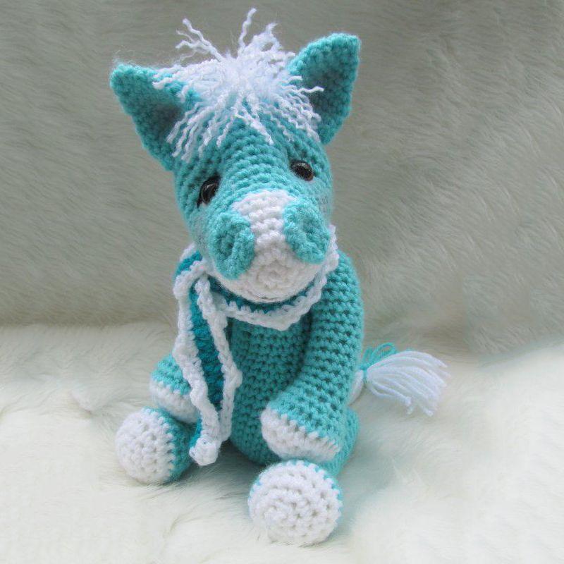 Cute Horse Crochet Pattern Amigurumi Pinterest Horse