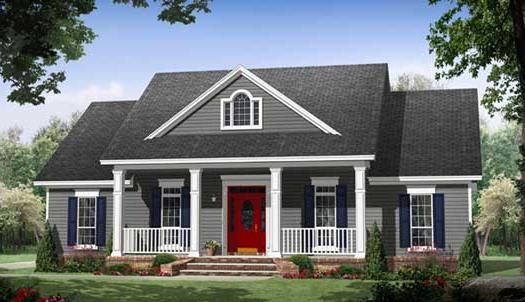 Country Style House Plans Plan 2-322 House plans Pinterest