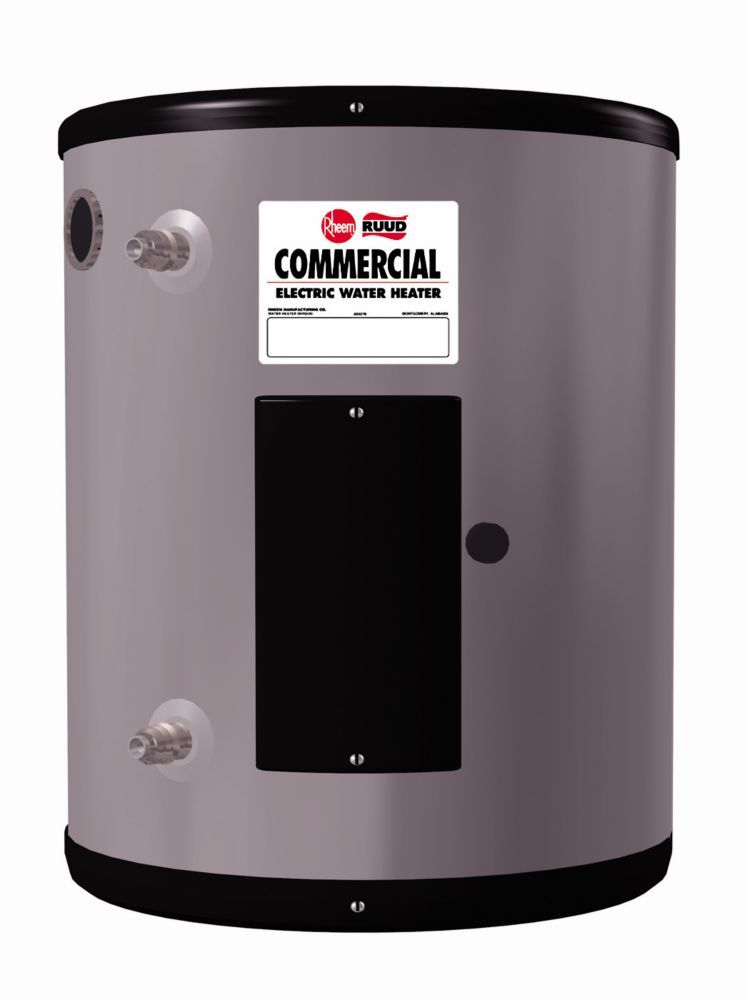 Rheem 20 Gallon Commercial Point Of Use Water Heater 4 5kw 240v