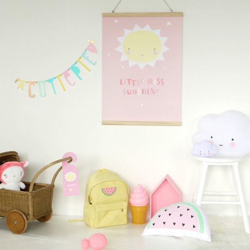 Lass die Sonne auch im Kinderzimmer scheinen! Mit dem süße