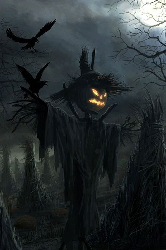 'It's Halloween! It's Halloween! The moon is full and