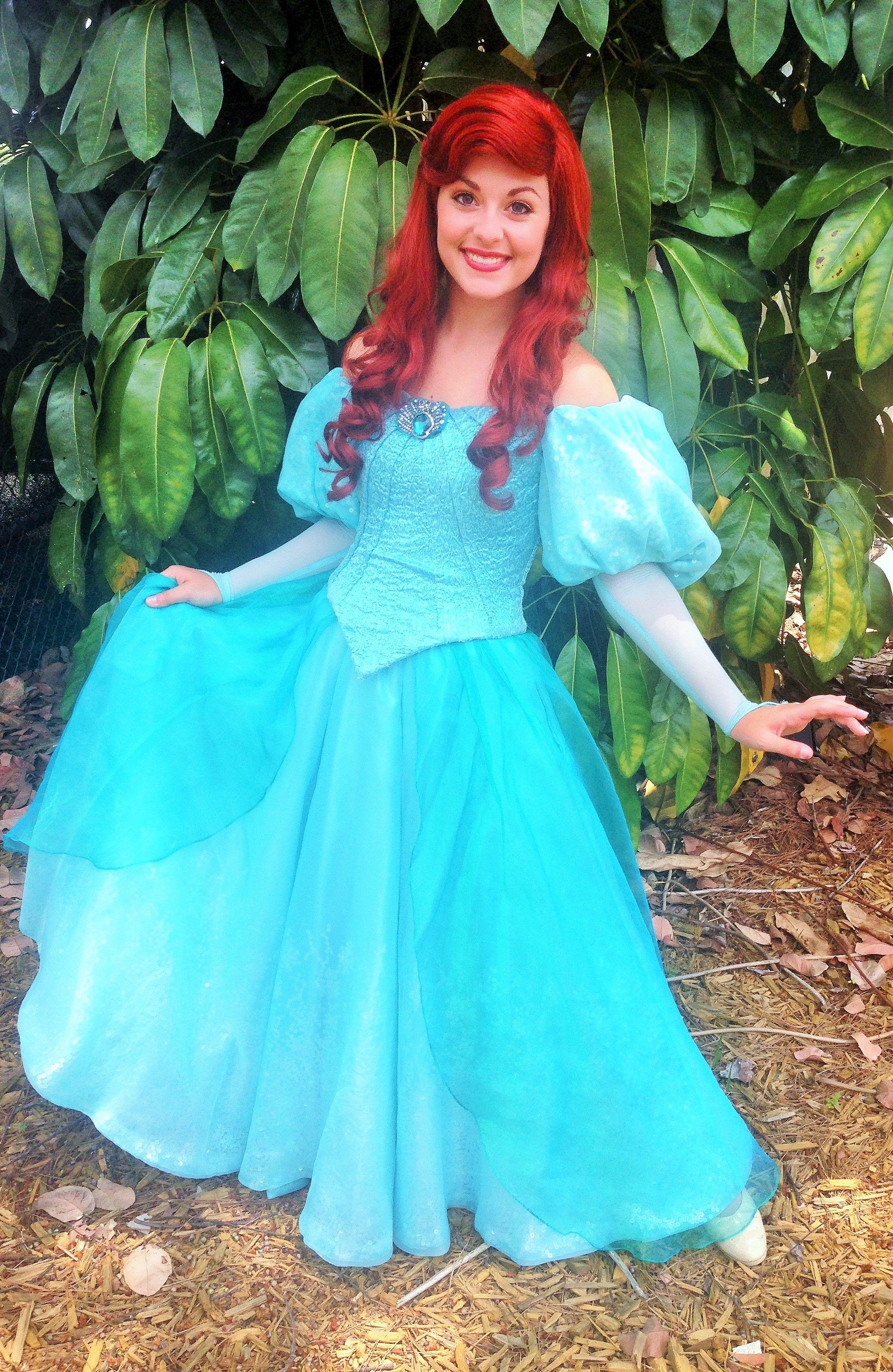 Ariels new dress disney princesses pinterest face