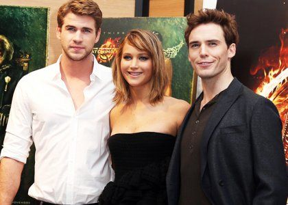 The Hunger Games Catching Fire Cast Fever At Cannes My Hunger