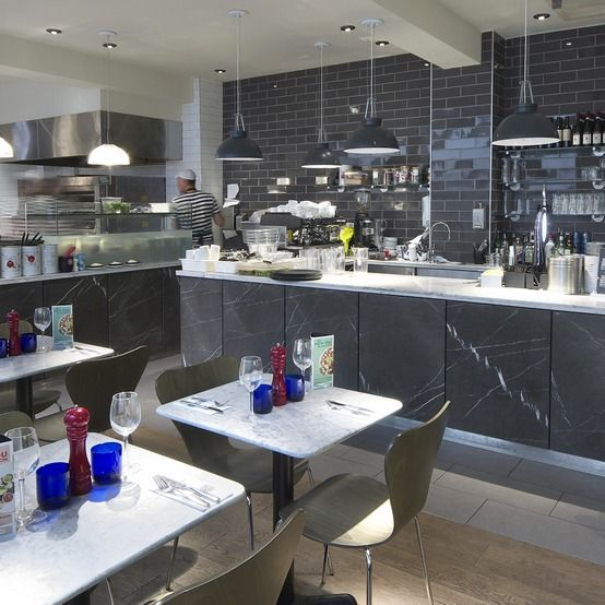 Marble Pizzaiola Restaurant Kitchen Pizzaexpress St