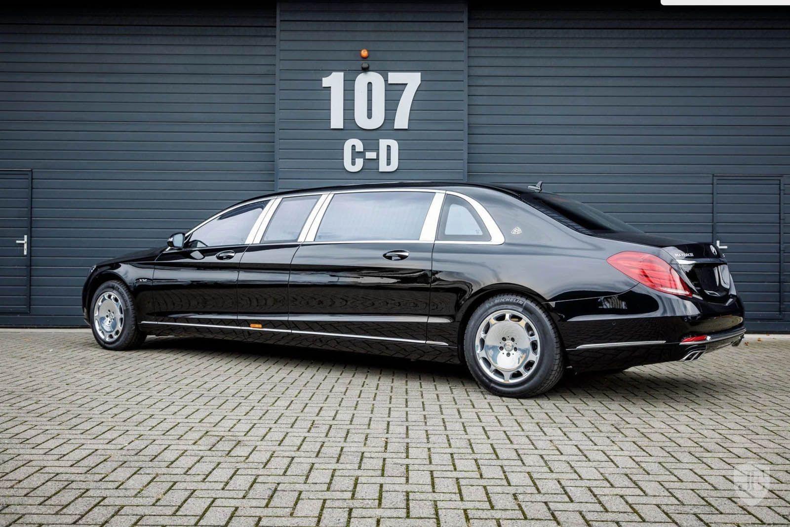 2017 mercedes benz-maybach s600 (w222) pullman limousine | merc benz