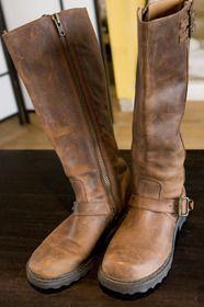 Fluevog Shoes - FlueMarket - listing details. Fluevog Bondgirl Boots, Brown. great boots!