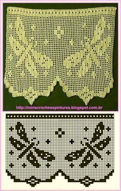 Miria Croches E Pinturas Barrados De Croche Libelulas E