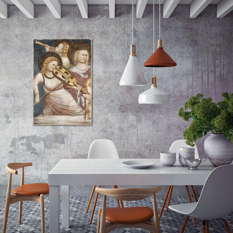Un idea raffinata per decorare le pareti della sala da for Pittura sala da pranzo