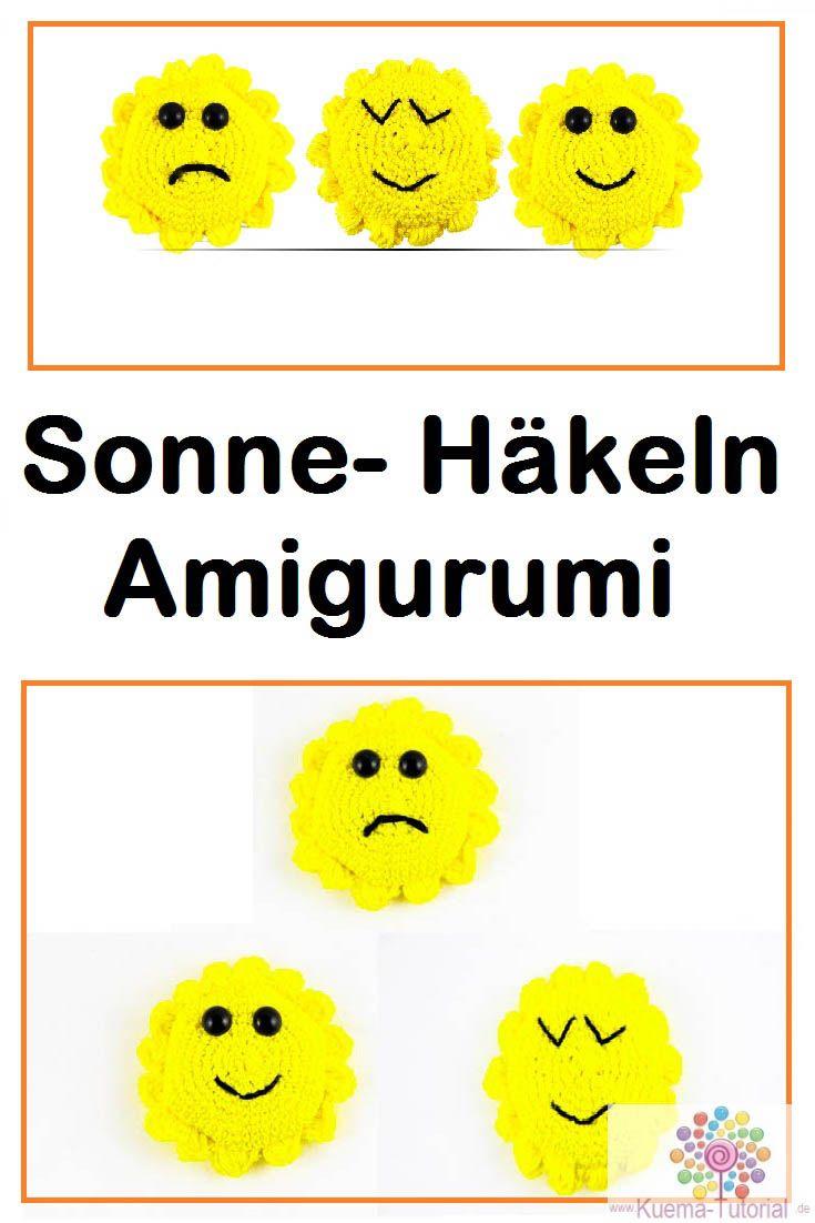 Amigurumi Sonne - Häkelanleitung