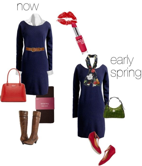 """""""Sweater dress"""" by busyvp ❤ liked on Polyvore"""