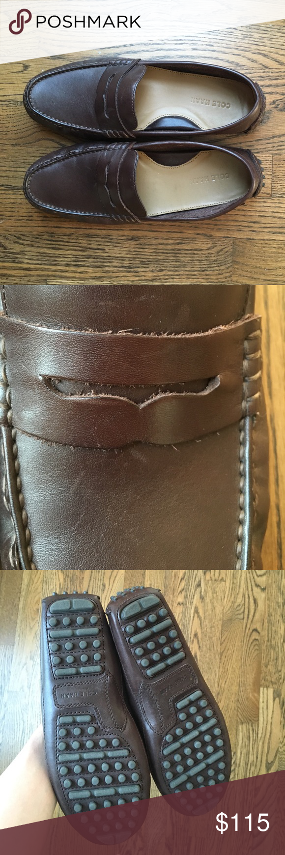 3d015ea609e Cole Haan Grant Canoe Penny Loafer Cole Haan Grant Canoe Penny in T Moro.  Hardly worn! Classic style. There is a bit of wear on left shoe (see  picture) ...