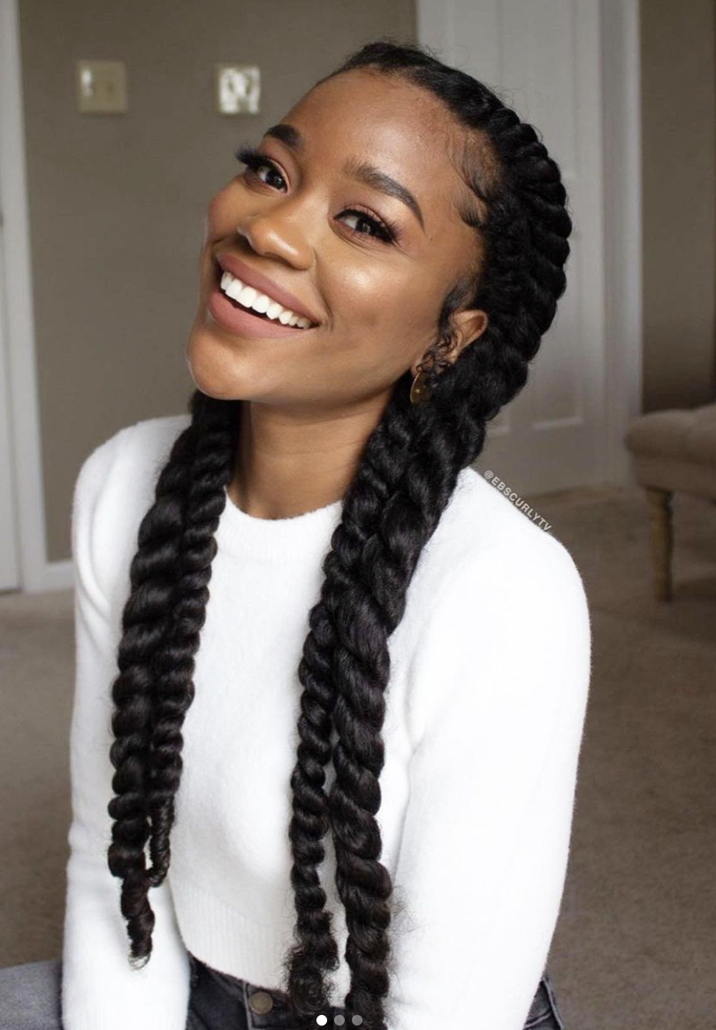 5 Tips For Prepping Hair For Protective Styles Voice Of Hair In 2021 Natural Hair Styles Short Natural Hair Styles Braids For Black Hair