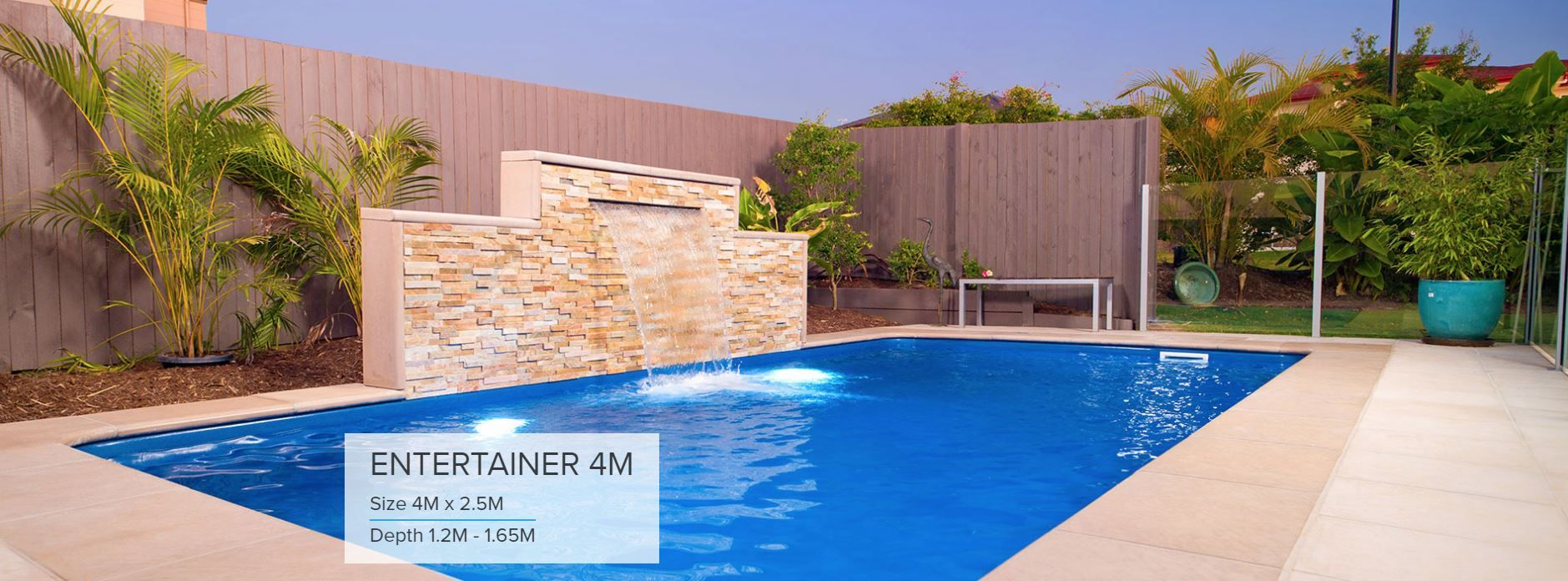 Add A Sense Of Elegance And Class To Your Backyard With One Of Our Entertainer Pools From Cool Swimming Pools Swimming Pools Backyard Fiberglass Swimming Pools