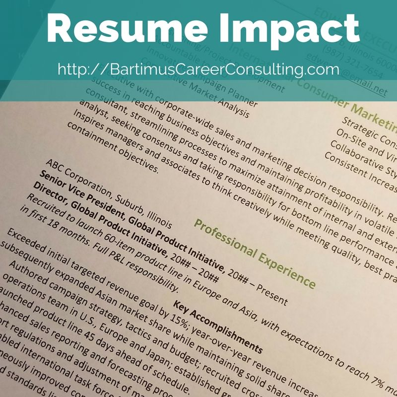 resume branding statement examples%0A How should you build your brand in your resume and highlight your  experience  Bartimus Career