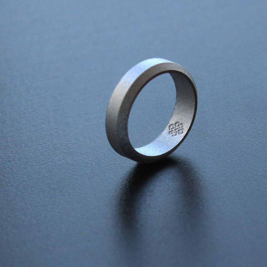 Bevel Silicone Wedding Rings For Men And Women In 5mm, 6mm, 8mm Bandwidths  ☆ Awardwinning Designer