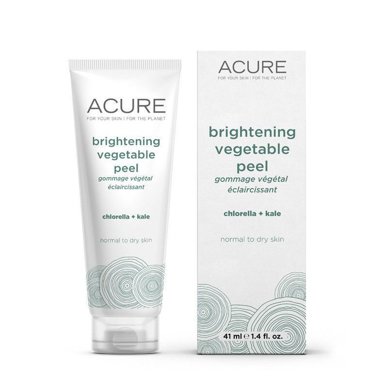 Acure Brightening Vegetable Peel #SkinTighteningDiy