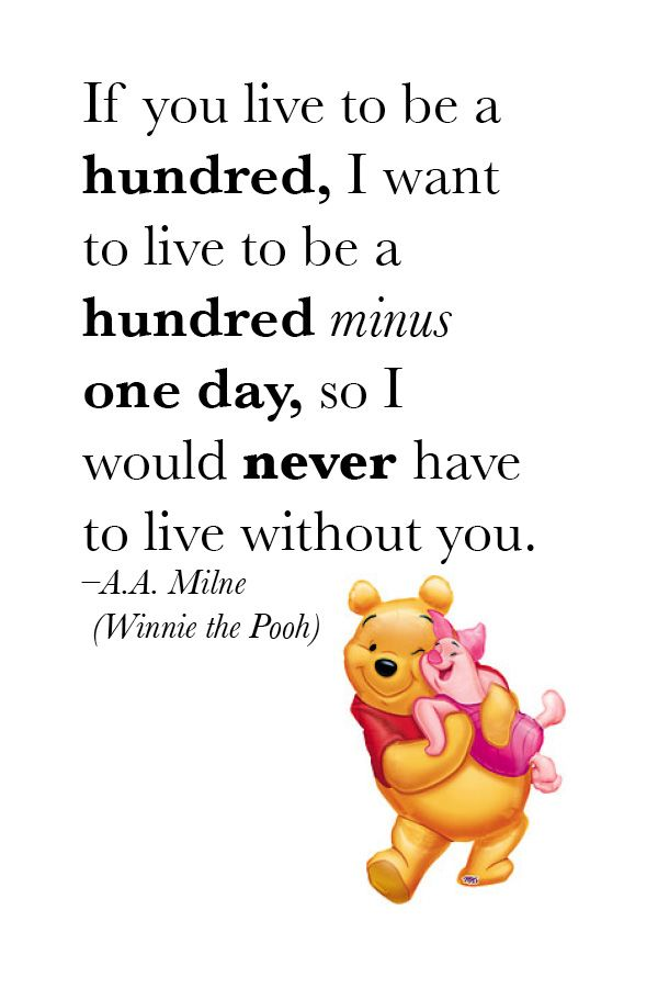 A.A. Milne & Winnie the Pooh #love #quote | Wise Words ... Quotes From Winnie The Pooh About Love