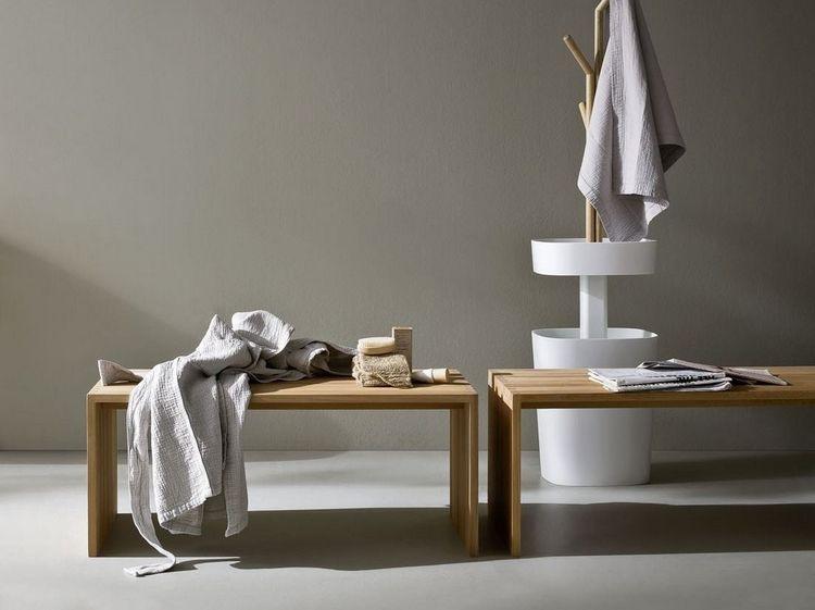 banc salle de bain de design italien par Rexa- modèles en bois ...