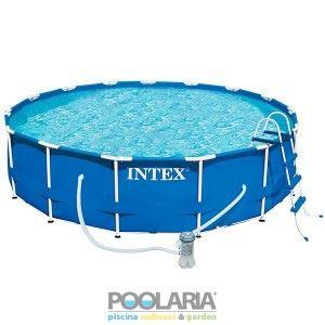 piscina intex prisma frame 457x122 dep cartucho 26736np. Black Bedroom Furniture Sets. Home Design Ideas