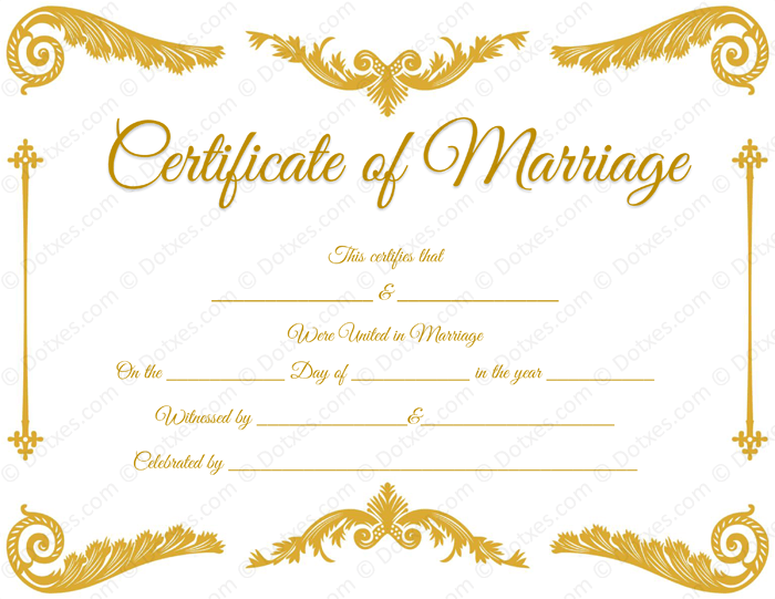 Fake royal corner marriage certificate template printable marriage fake royal corner marriage certificate template yelopaper Images