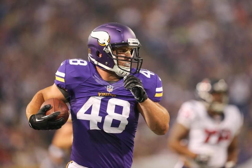 classic fit d9c2a b1be3 RB Zach Line - Minnesota Vikings | NUC in the NFL | Football ...