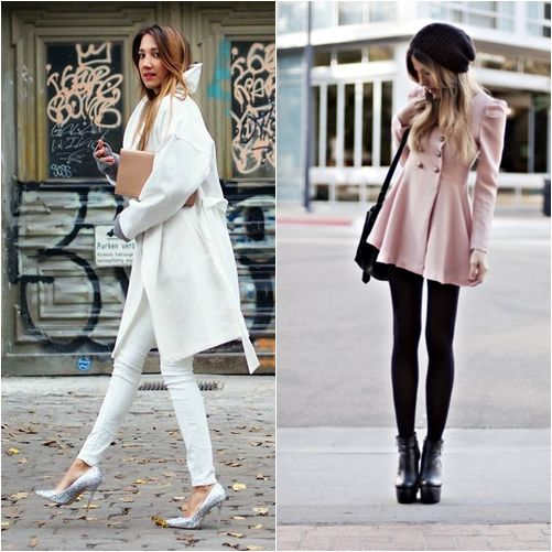 How to Style With Winter Coat Outfit http://www.ferbena.com/style ...