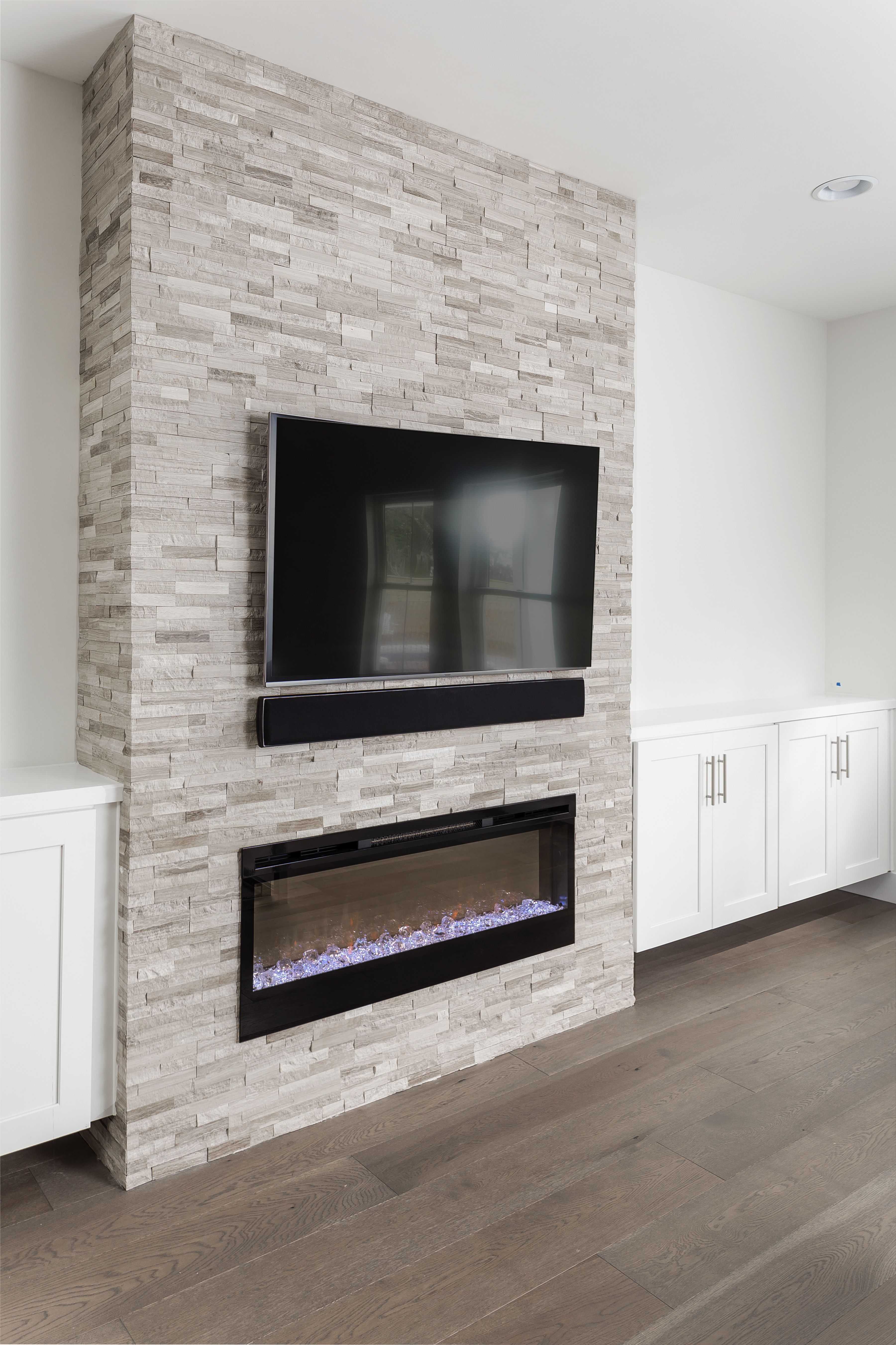 Hottest Screen Tv Over Electric Fireplace Style How Safe Are Electric Fireplaces They Re Very Safe If You Follow Basement Fireplace Fireplace Fireplace Design