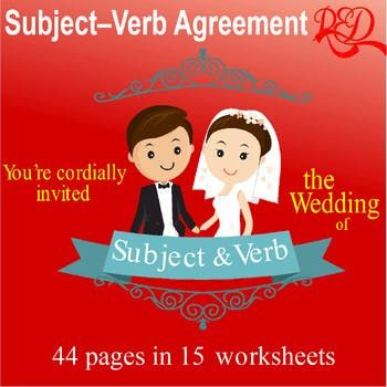 ⭐Subject and Verb Agreement Worksheet Pack Reviews 7th Grade